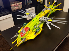 SHiPtember 2017 - Dragonfly class Dropship - WIP day 22 - update 1