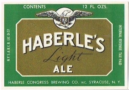 Haberles-Light-Ale-Labels-Haberle-Congress-Brewing-Company