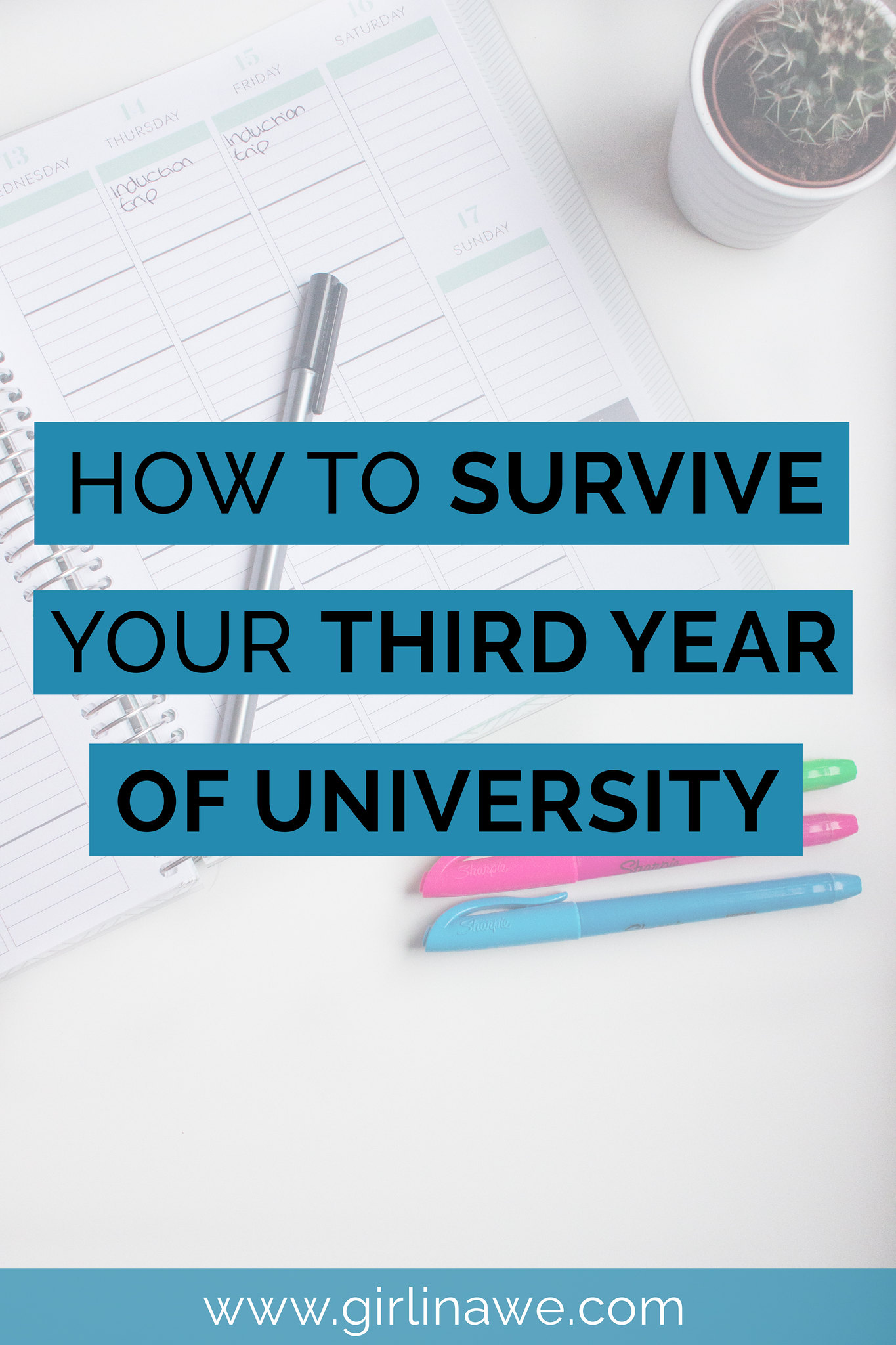 How to survive your third year of university; organisation & survival tips