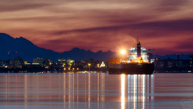 Dawn in Victoria