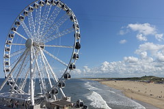 SkyView Pier and Scheveningen Strand