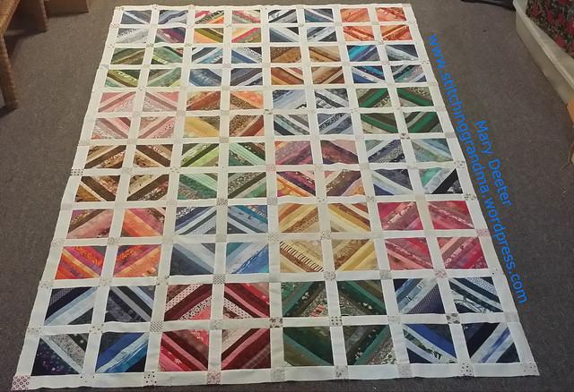 String quilt assembled