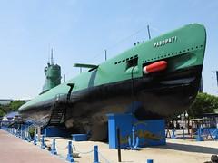 Indonesian Navy Whiskey-class Submarine KRI Pasopati (410) Surabaya Indonesia