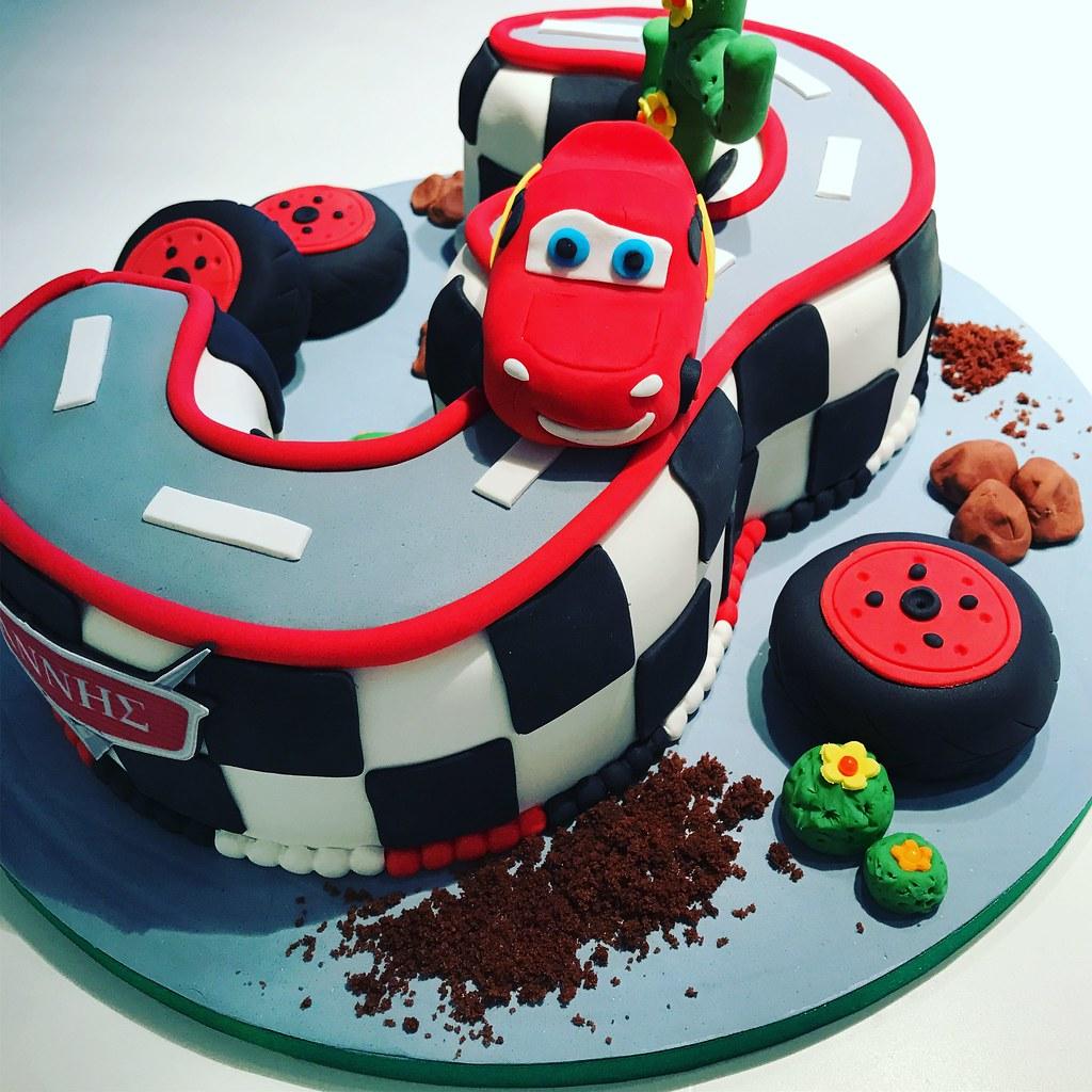 Cars Birthday Cake Patricia Creative Cakes