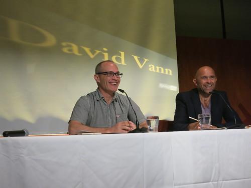 David Vann und Ernst Gossner