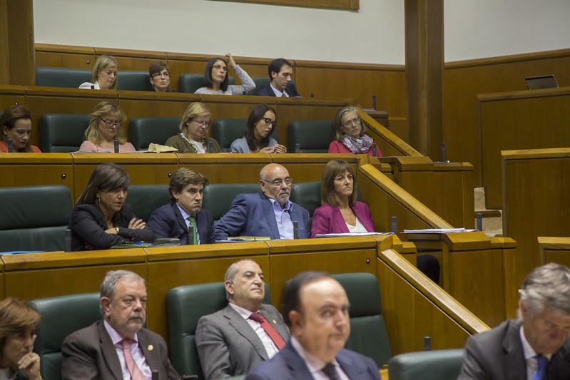 Pleno de Política General, intervención de Idoia Mendia