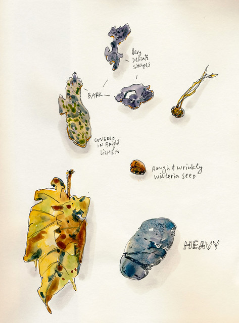 Sketchbook #107: First Page - Treasures