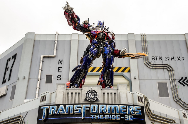 Transformers ride US