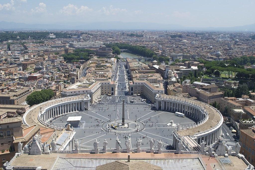 Vistas y mirador de Roma
