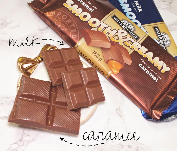the sweet tooth waterbridge smooth & creamy milk chocolate bars (4)