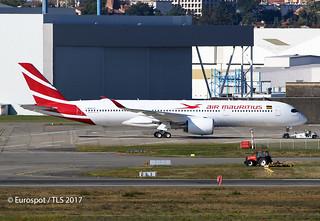 F-WZNN AIRBUS A350 AIR MAURITIUS