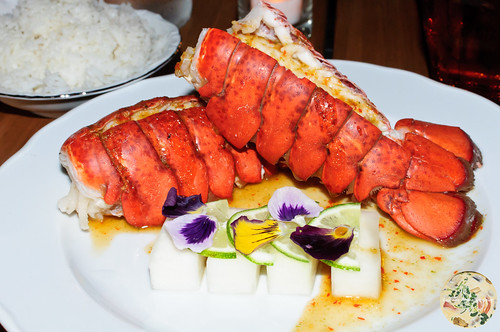 Steamed Baby Lobster Tail