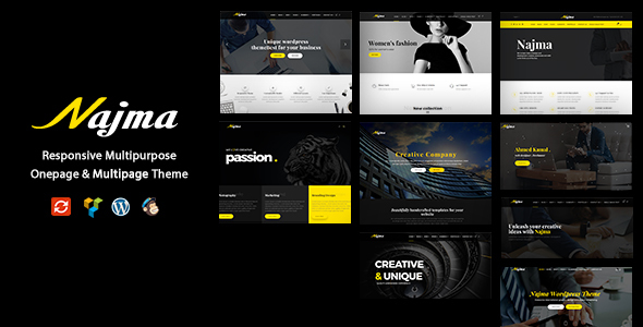 Najma v1.0 – Creative Multi-Purpose WordPress Theme