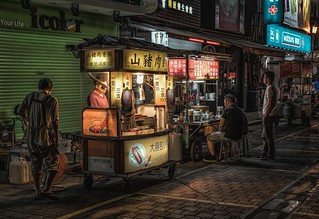 Food at night,Taipei