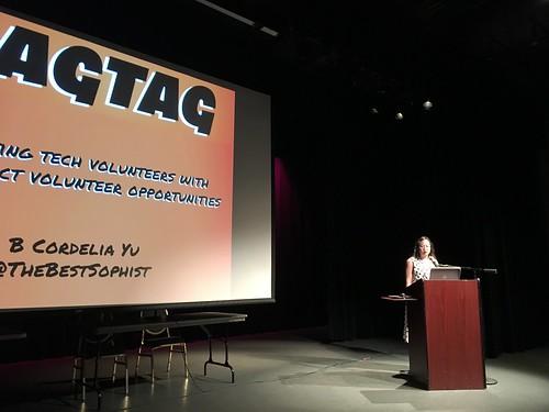 Cordelia Yu with RAGTAG.org