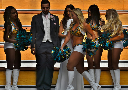 UKNFL Faces In The Crowd & Cheerleaders Of Course