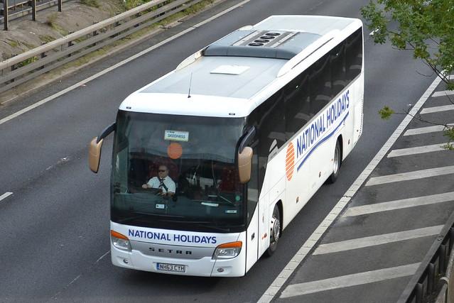 National Holidays Setra NH63CYH - M60, Stockport