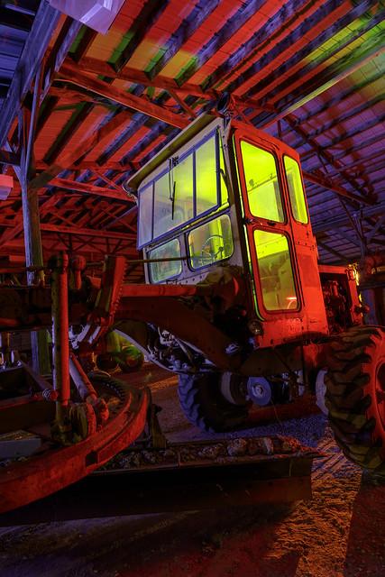 RGB Wheel Tractor Scraper