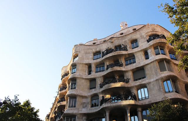La Pedrera Casa Mila Barcelona
