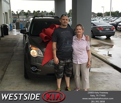 #HappyBirthday to Geneva from Rick Hall at Westside Kia!