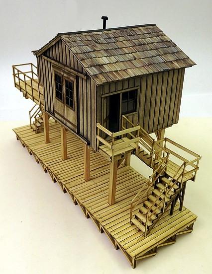 Kitwood Hill Models - 'O' Scale Kits - Kit Building - Model