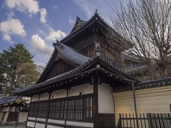 Ancient design of Kyoto Buddhist Temple