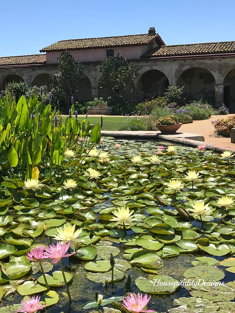 Mission of San Juan Capistrano-Water Garden-Housepitality Designs