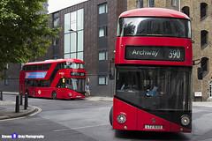 Wrightbus NRM NBFL - LTZ 1033 - LT33 - Archway 390 - Metroline - London 2017 - Steven Gray - IMG_0028