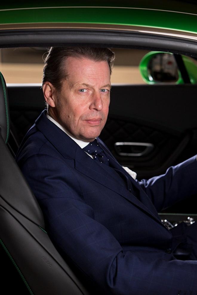 賓利汽車設計總監史蒂芬·西拉夫先生出任Mulliner個性化定制部門負責人 (1)