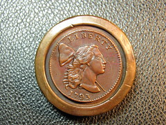 English stacking weight IMG_1241 1793 Lib. Cap cent
