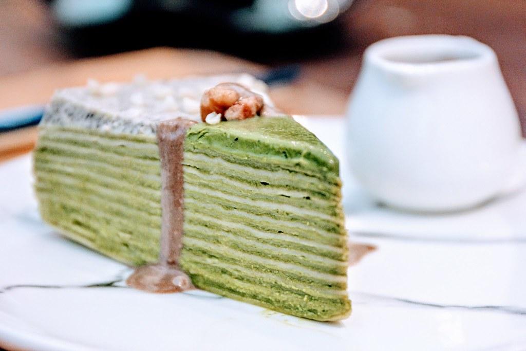 宅宅點的抹茶蛋糕,沒有吃到XD