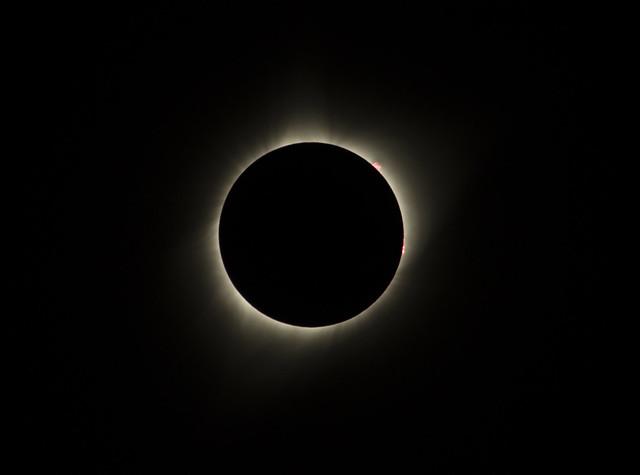 August 21, 2017 Solar Eclipse - Casper, Wyoming