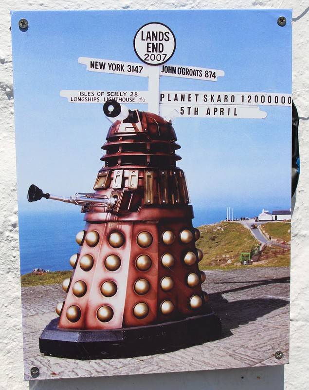 Dalek at Lands End, Cornwall