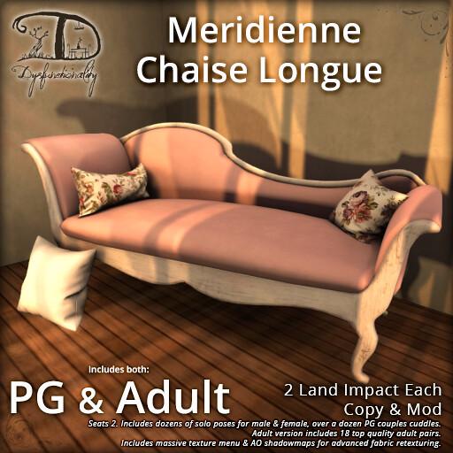 Meridienne Chaise Longue - TeleportHub.com Live!