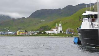 Unalaska waterfront