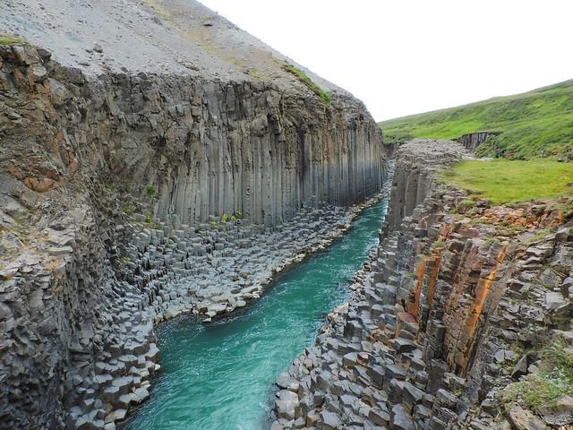 Stuðlagil (Basalt Column Canyon), Eastern Icelan