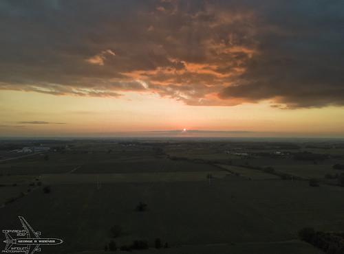 Sunset From 400 Feet