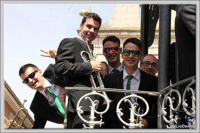 #BriviescaFiestas17 Recepción en el Ayuntamiento y canto popular del Himno a Briviesca (9)