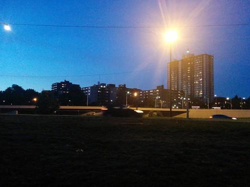 Towards Jameson #toronto #lakeshoreblvd #parkdale #skyline #jamesonave
