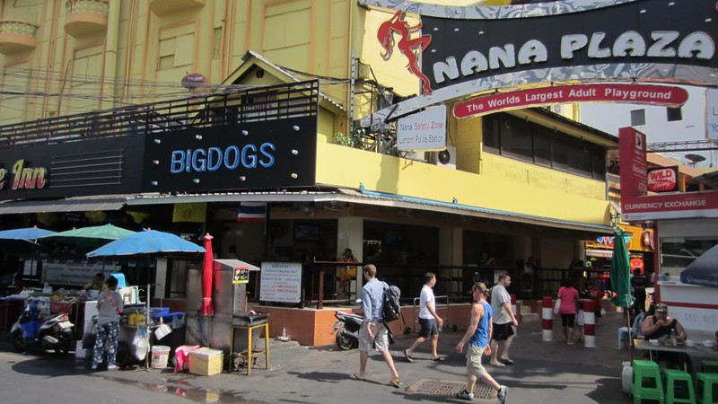 Bangkok famous sexy go-go bars