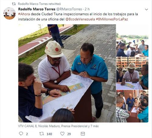 Ciudad tiuna inaugurar pr ximamente oficina del banco de for Oficina del banco de venezuela