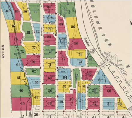 Insurance Maps of the City of New York. Borough of Manhattan, Atlas 126