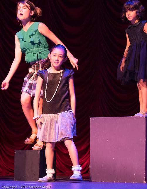 Hana on stage