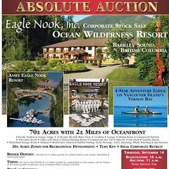 AuctionCountdown Less than a week! #AUCTION September 14 #EagleNookResort #VancouverIsland #BritishColumbia #Canada #BarkleySound #oceanfront 70+/- acres, #luxurylodge #waterfront cabins #helipad EMAIL: info@national-auction.com #nationalauctiongroup #auc