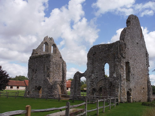 Boxgrove Priory's Guest House Ruins