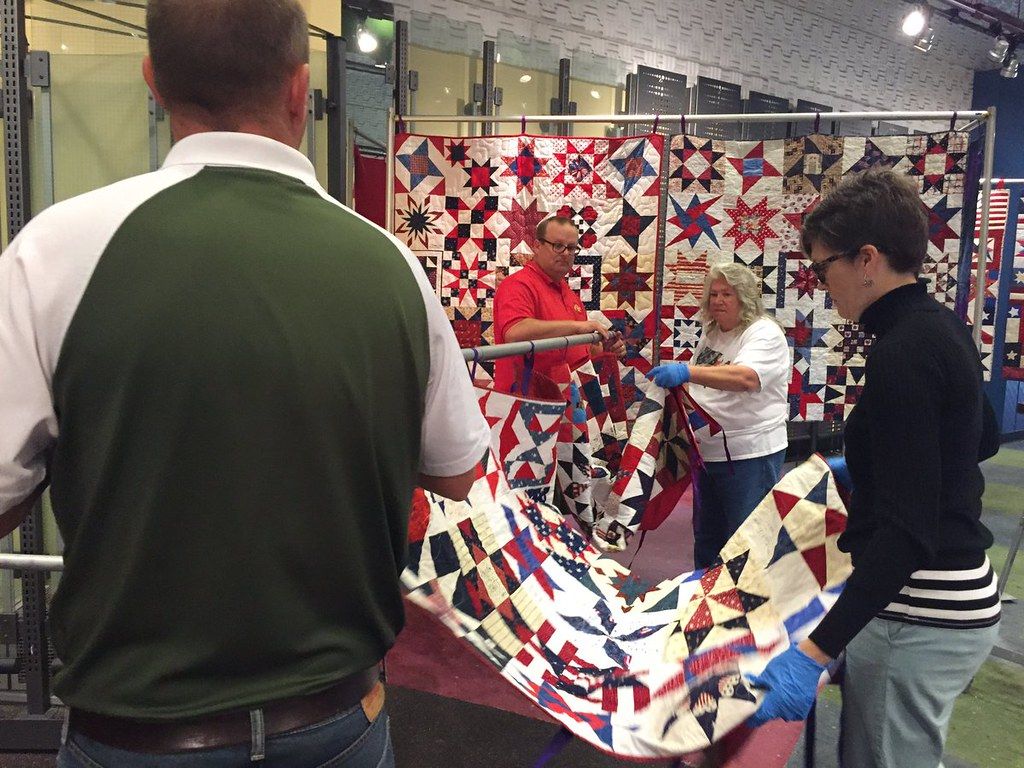 World Trade Center Memorial Quilt Project Prepares for Local Showing