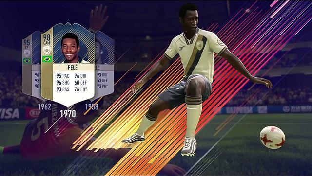 FIFA 18 Pele Icon Card