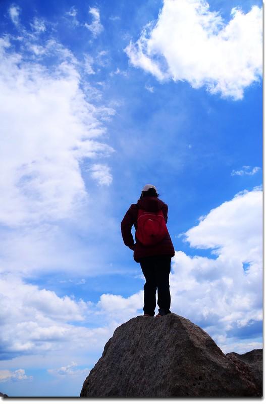 Mount Evans山頂(4,348 m) 5