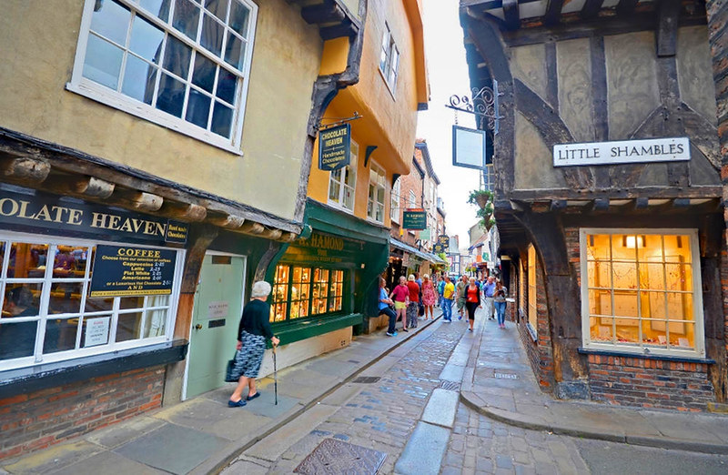 Little Shambles, York. Credit Baz Richardson, flickr