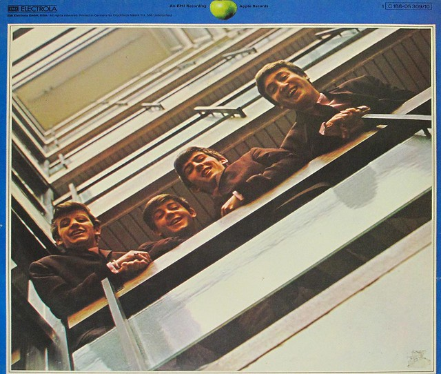 "The BEATLES 1967-1970 1st pressing 12"" Germany 2LP GATEFOLD Cover"